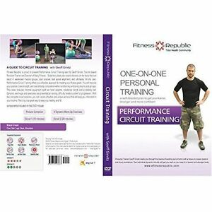 Details about Fitness Republic Performance Circuit Training DVD Fitness DVD  brand NEW #B2