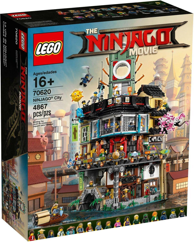 Lego Ciudad de la película Ninjago  70620 Ninjago