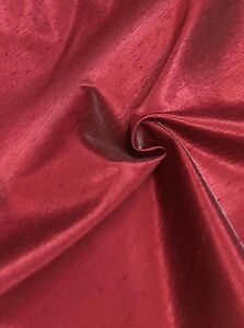 BEAUTIFUL-RED-POLYESTER-SILK-FABRIC-20-METRES