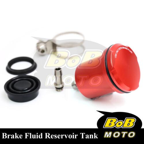 For Honda CBR1000RR ABS 2008-2014 Red Racing CNC Rear Brake Fluid Reservoir Tank