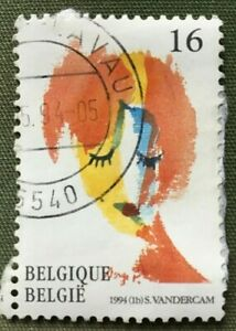 Belgium Stamps Art Serge Vandercam 16 Belgian Franc1994 Ebay