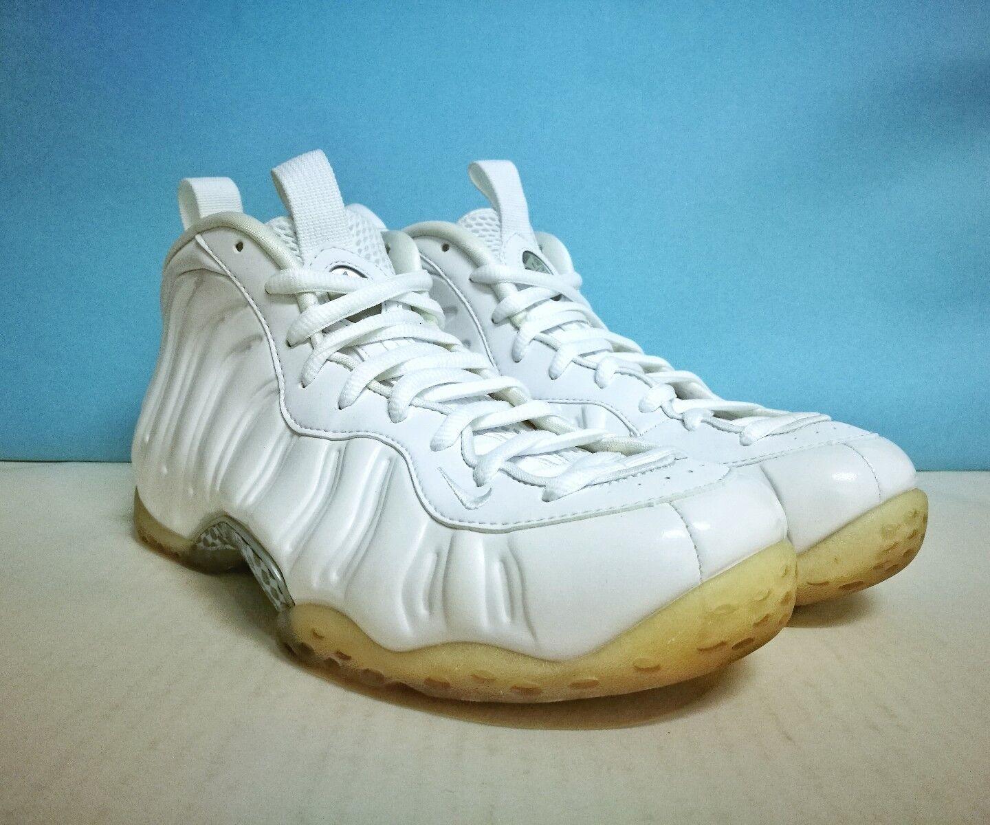 Nike Air OUT Foamposite One ++ blanc OUT Air ++ sz 9 US 42.5 EU 314996 100 Jordan Yeezy 2bafa0