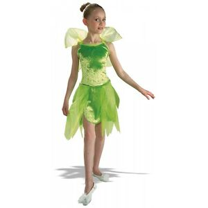 Tinker-Bell-Kids-Costume-Tinkerbell-Peter-Pan-Halloween-Fancy-Dress