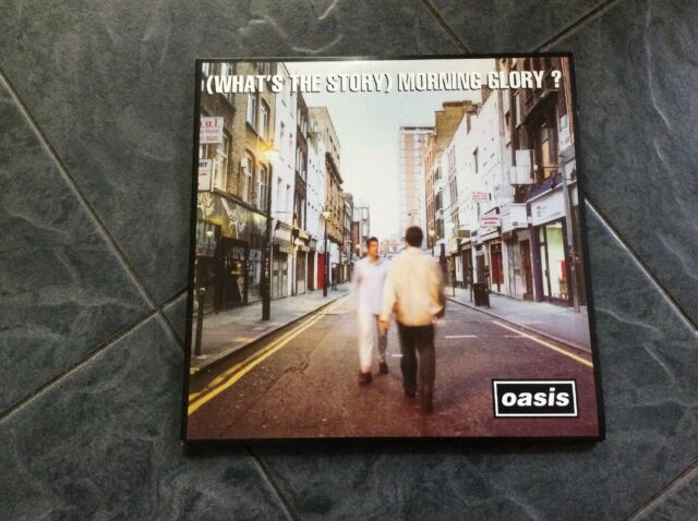 Oasis - (What's The Story) Morning Glory? (UK Vinyl LP, 2014). Gatefold Double