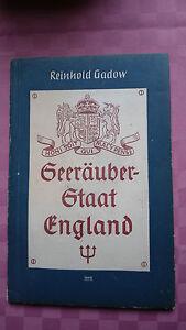 Reinhold-Gadow-Seeraeuber-Staat-England-Wissenschaftliche-Reihe-rar