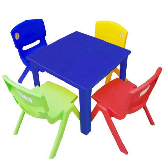 Excellent Children Kids Table And Chairs Set For Study Activity Indoor Outdoor Garden Uwap Interior Chair Design Uwaporg