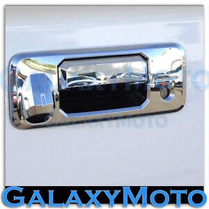 14-15-TOYOTA-TUNDRA-CREWMAX-Chrome-Tailgate-Handle-Cover-w-Keyhole-Camera-Hole