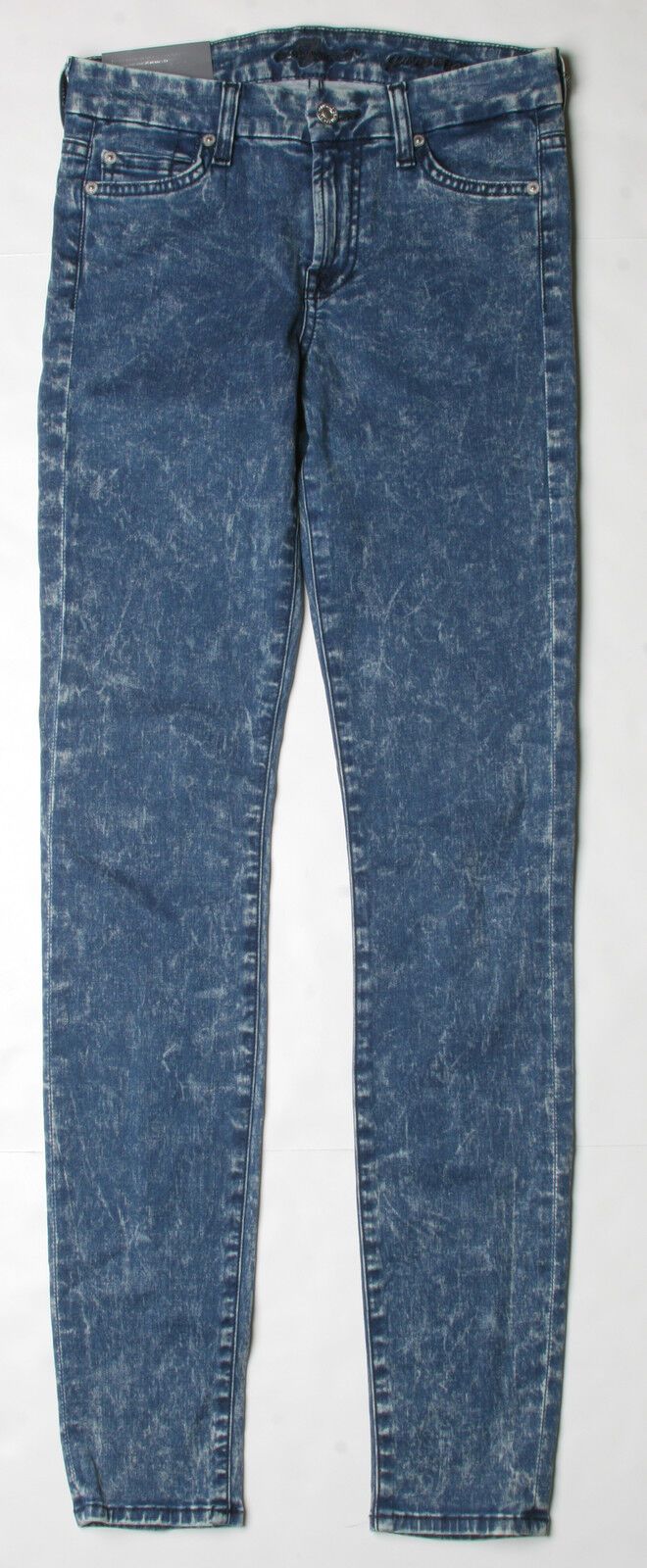 7 for all Mankind GWENEVERE Super Skinny Jeans (26) Minéral Bleu Délavé AU0168660