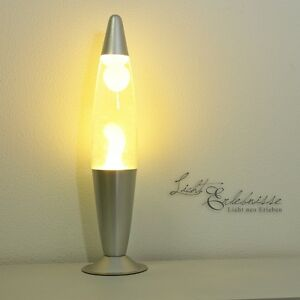 034-Rocket-034-Lampara-de-lava-en-gelb-transparent-lavalampen-Luz