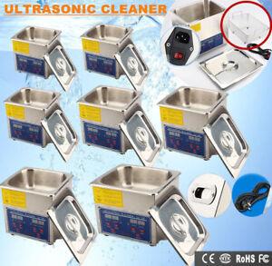 Ultraschall-Reinigungsgeraet-Digital-Ultraschallgeraet-Ultraschallreiniger-Korb