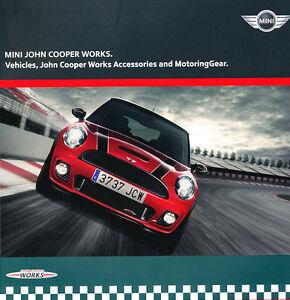 2009 2010 Mini John Cooper Works 46 Page Car Brochure Catalog