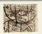 GERMANY; UPPER SILESIA 1920 Mar. Coal Mine issue fine used 25pf. value