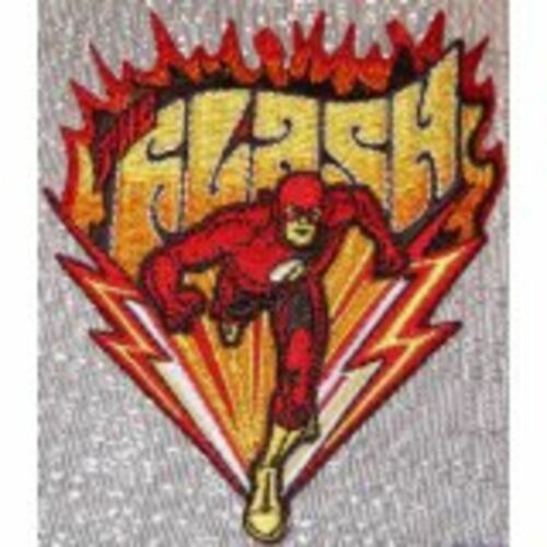 DC Comics THE FLASH Burning Flame Embroidered PATCH