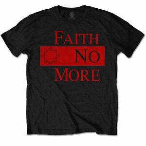 Faith-No-More-Classic-New-Logo-Star-Official-Merchandise-T-Shirt-M-L-XL-Neu