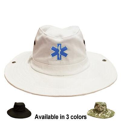 100/% Cotton Military Digital Boonie Bush Hiking Outdoor Hat U.S NAVY CORPSMAN