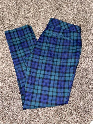 Womens Vineyard Vines Plaid Pants Size 2 Dress Pa… - image 1