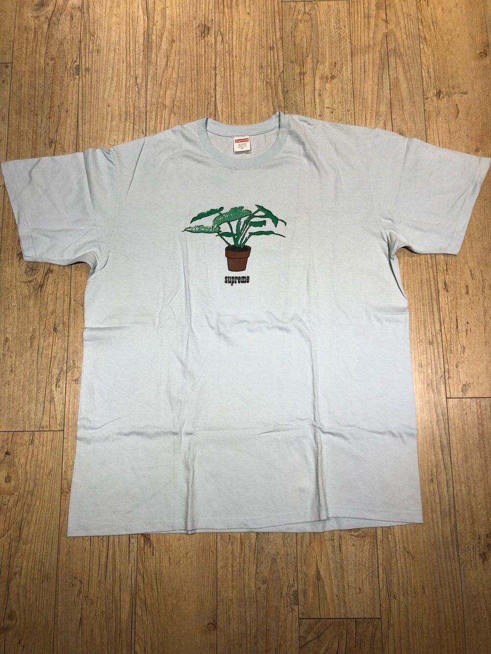 Supreme Plant Tee XL, Light Blau