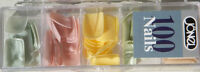 100 Jonel Artifical Nails In 5 Shades Of Pastels