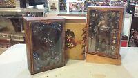 Hot Toys Ac01 Alien V Predator Samurai Predator W/ Diorama Us Seller - Rare