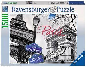 RAVENSBURGER-16296-PARIS-MI-AMOR-PUZZLE-1500-PIEZAS-My-Paris-1500-Pieces-Jigsaw