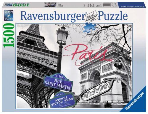 RAVENSBURGER 16296 PARIS MI AMOR PUZZLE 1500 PIEZAS My Paris 1500 Pieces Jigsaw