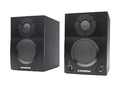 "Samson MediaOne BT3 Two-Way Active 3"" Bluetooth Monitors (Pair) SAMBT3"