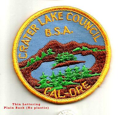 MINT CSP Crater Lake Council T-2