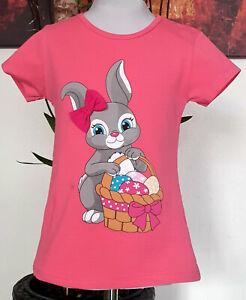 Kinder-Maedchen-T-shirt-Gr-116-Sommershirt-kurzarm