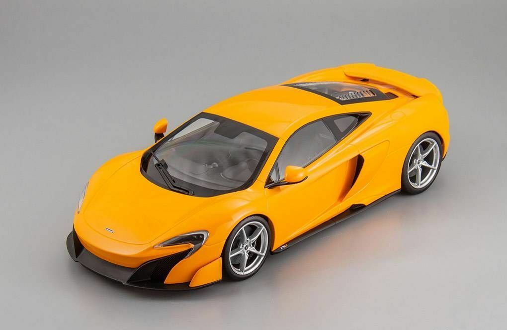 McLAREN 675LT Orange 1 18 Kyosho C09541P