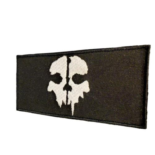 call of duty ghosts COD SOG embroidered badge skull tag sew iron on patch