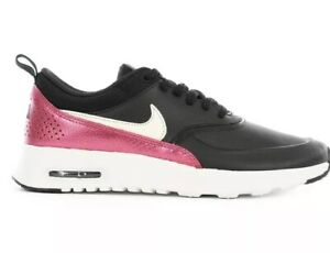 cienie zaoszczędź do 80% popularna marka Details about Nike Air Max Thea Premium Womens 616723-028 Black Cherry  Running Shoes Size 8