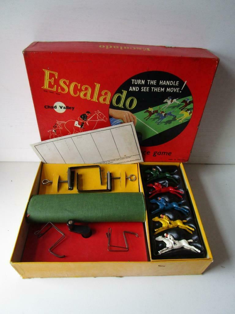 Vintage Escalado Horse Racing Game. Boxed and Complete in Very Good Condition