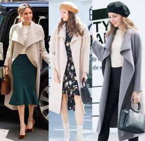 Belted wool coat Woman | Mango Croatia