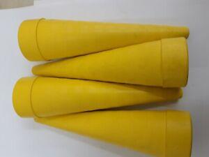 HYDRAULIC-SERVICE-PLUGS-1-PACK-4-OFF-12-43mm-YELLOC-XL-ANTI-SPILL