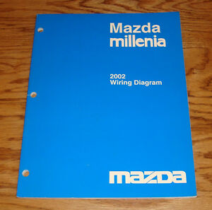 Original 2002    Mazda       Millenia       Wiring       Diagram    Manual 02   eBay