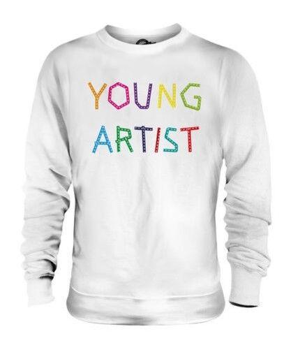 Joven Artista Unisex Suéter Regalo Top Arte Pintura