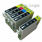 1 Set 4 Black 8 Compatible Printer Ink for Use in Epson Bx525wd Bx535wd