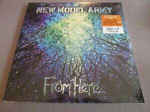 New-Model-Army-From-Here-2LP-180g-Vinyl-Neu-amp-OVP-Gatefold-Download