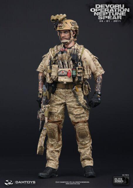 "DAM Toy 1/6 Scale 12"" US Navy Devgru Operation Neptune Spear Action Figure 78012"