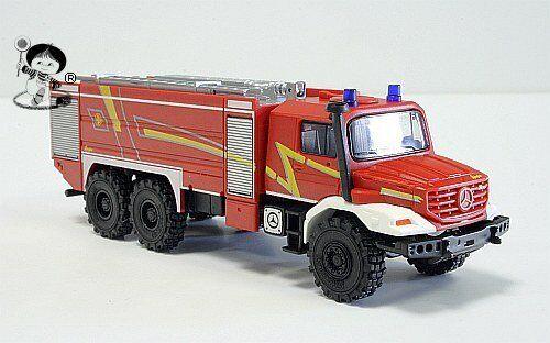 049986 HERPA Mercedes-Benz Zetros Feuerwehr  Ziegler-Design