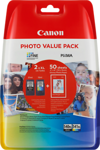 Canon Multipack PG-540XL CL-541XL Photo Value Pack
