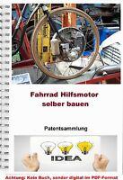 Fahrrad Hilfsmotor Bauen Nachrüsten E Bike Technik Patentsammlung Pdf