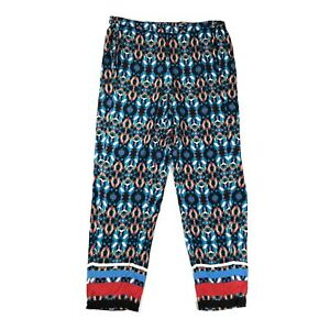 hot sale online various colors to buy Plenty by Tracy Reese Jog Pants Joggers Dappled Black Print ...