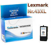 1x Drucker Patrone Seitronic für Lexmark Nr 43 XL Farbig X7550 X7675 X9575 Z1520