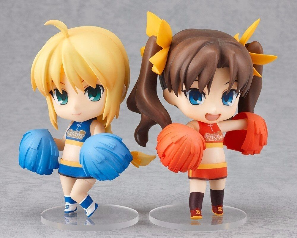 Nendoroid 215 Saber & Rin Tohsaka Cheerful ver. Figure from Japan