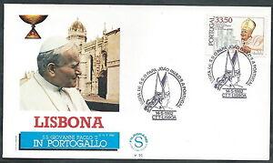 1982 Vaticano Viaggi Del Papa Portogallo Lisbona - Sv