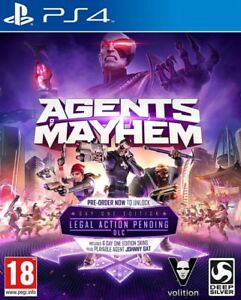 Agents-Of-Chaos-Day-One-Edition-PS4-Neu-Versiegelt-PAL