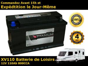 110Ah-12V-Batterie-de-Loisirs-Pour-Caravane-Camping-Car-Bateau-Garantie-de-4-Ans