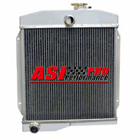 3 Row/core Aluminum Radiator For 55-58 Jeep Willys Flathead High Performance