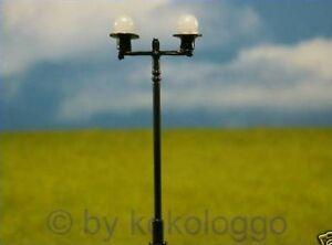 W18 10 st ck lampen stra enlampen 2 flammig 6cm for Lampen 2 flammig